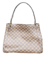 Primary Photo - BRAND: LOUIS VUITTON MARYLEBONE DAMIER GM <BR>STYLE: HANDBAG DESIGNER <BR>COLOR: MONOGRAM <BR>SIZE: LARGE <BR>OTHER INFO: AS IS- HANDLE WEAR AND CRACKING AROUND TOP EDGE<BR>SKU: 220-22090-7659