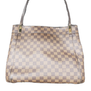 Primary Photo - BRAND: LOUIS VUITTON MARYLEBONE DAMIER GM STYLE: HANDBAG DESIGNER COLOR: MONOGRAM SIZE: LARGE OTHER INFO: AS IS- HANDLE WEAR AND CRACKING AROUND TOP EDGESKU: 220-22090-7659