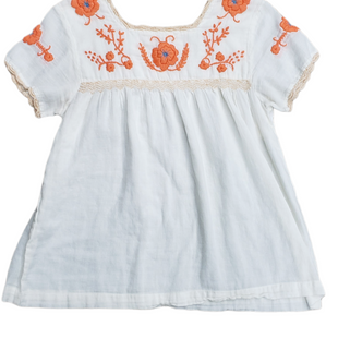 Primary Photo - BRAND: THML STYLE: TOP SHORT SLEEVE COLOR: CREAM SIZE: XS SKU: 220-22063-3876