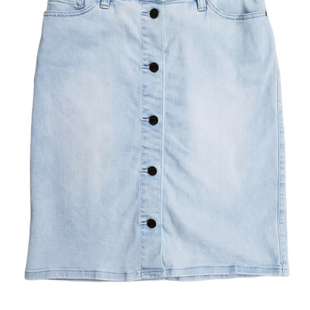 Primary Photo - BRAND: SANCTUARY STYLE: SKIRT COLOR: DENIM SIZE: 4 SKU: 220-220160-790