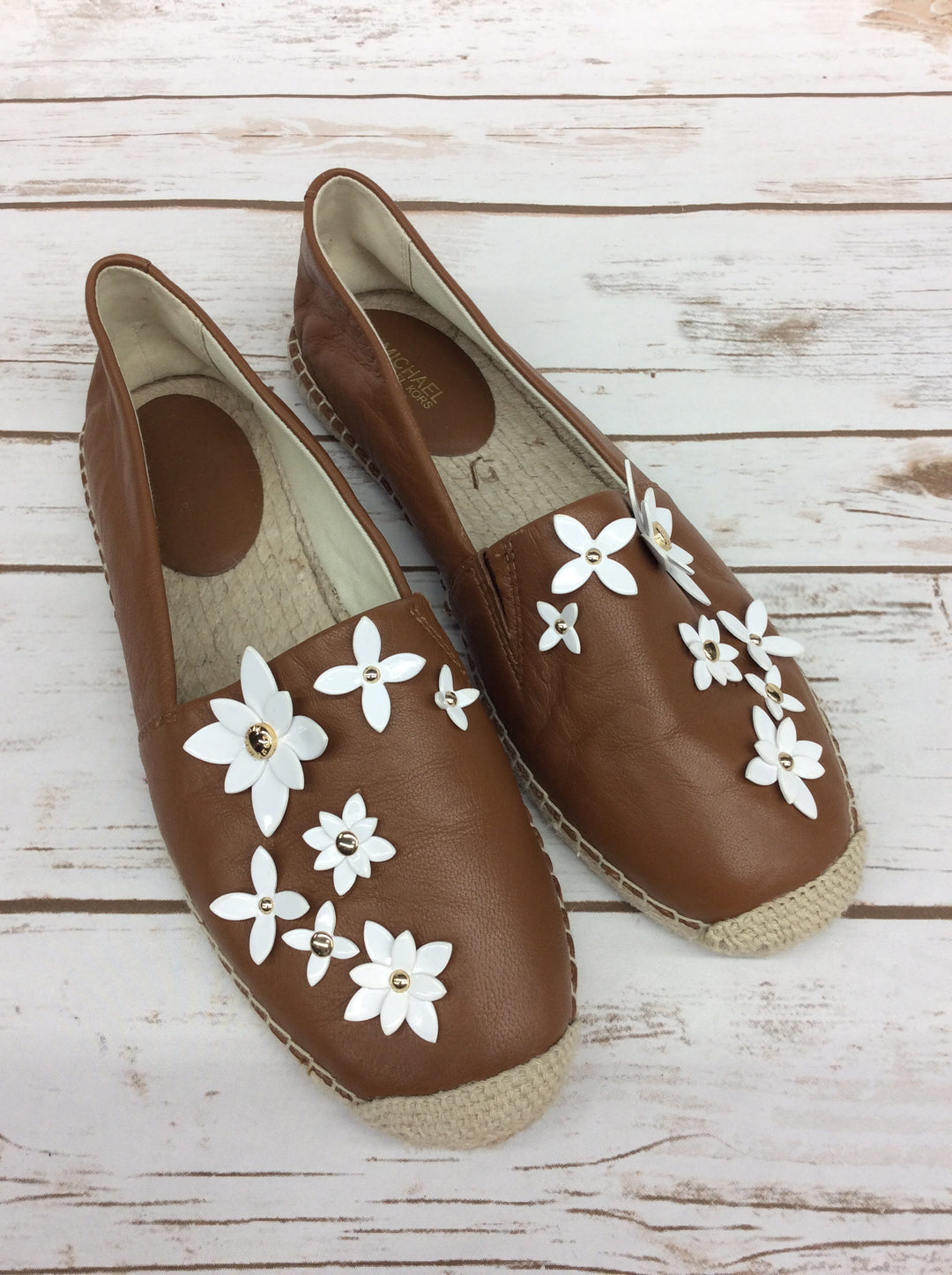 Primary Photo - BRAND: MICHAEL BY MICHAEL KORS <BR>STYLE: SHOES FLATS <BR>COLOR: CAMEL <BR>SIZE: 9 <BR>SKU: 220-220120-7179