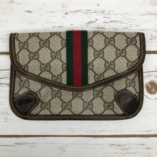 Primary Photo - BRAND: GUCCI STYLE: HANDBAG DESIGNER COLOR: BROWN SIZE: SMALL SKU: 220-220138-25647