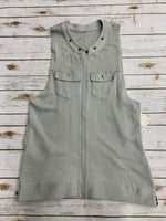 Primary Photo - BRAND: FREE PEOPLE <BR>STYLE: VEST <BR>COLOR: GREY <BR>SIZE: L <BR>SKU: 220-220128-14638