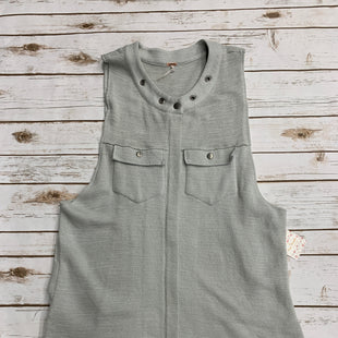 Primary Photo - BRAND: FREE PEOPLE STYLE: VEST COLOR: GREY SIZE: L SKU: 220-220128-14638