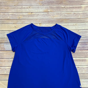 Primary Photo - BRAND: LIVI ACTIVE STYLE: ATHLETIC TOP SHORT SLEEVE COLOR: BLUE SIZE: 2X SKU: 220-220160-422