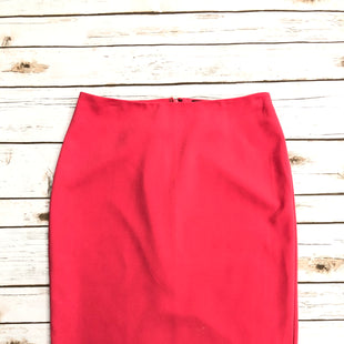 Primary Photo - BRAND: BANANA REPUBLIC O STYLE: SKIRT COLOR: CORAL SIZE: 4 SKU: 220-22012-28646
