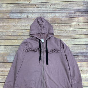 Primary Photo - BRAND: LIVI ACTIVE STYLE: ATHLETIC JACKET COLOR: MAUVE SIZE: 3X SKU: 220-220160-420