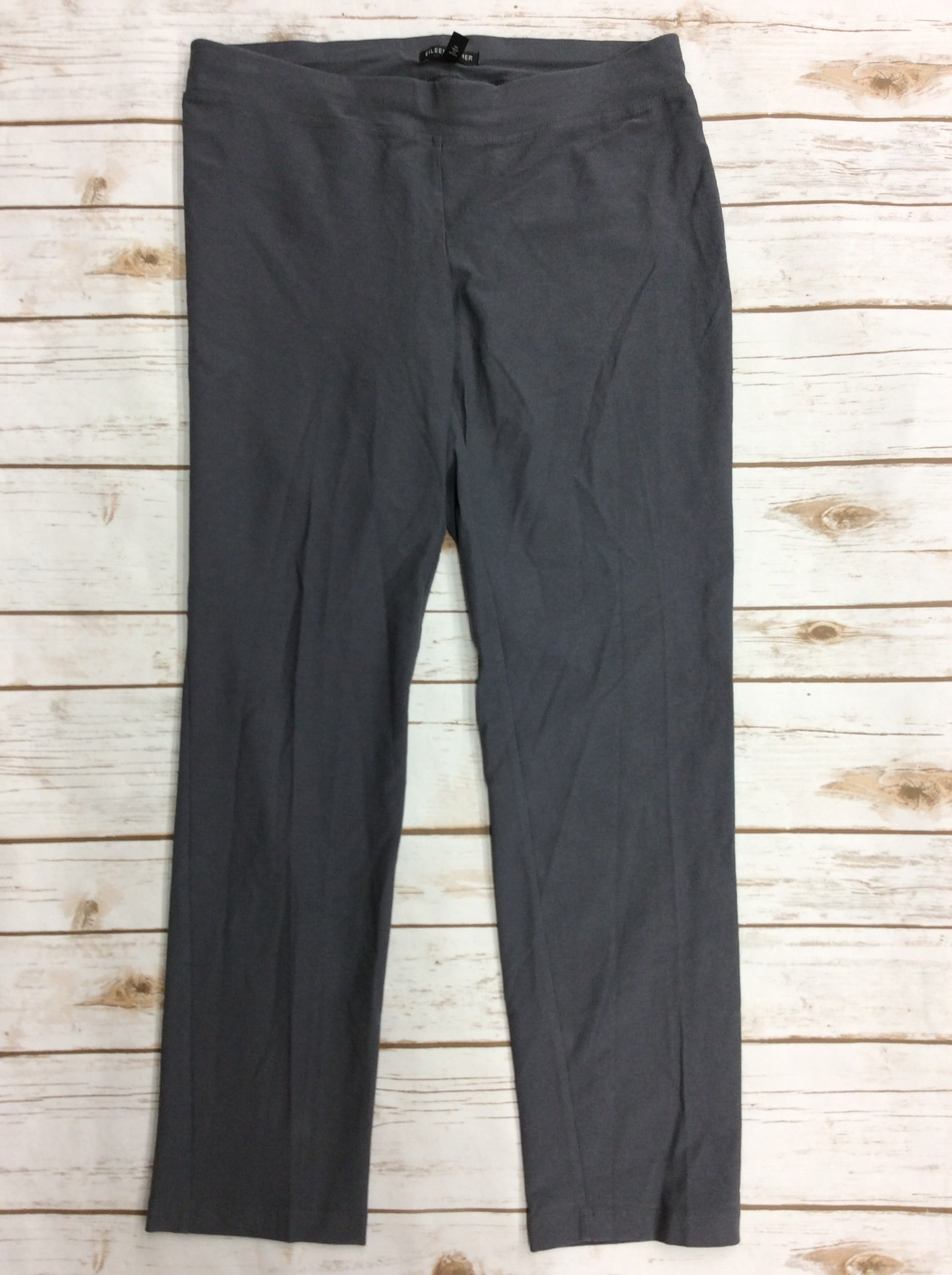 Primary Photo - BRAND: EILEEN FISHER <BR>STYLE: PANTS <BR>COLOR: GREY <BR>SIZE: S <BR>SKU: 220-22012-34108