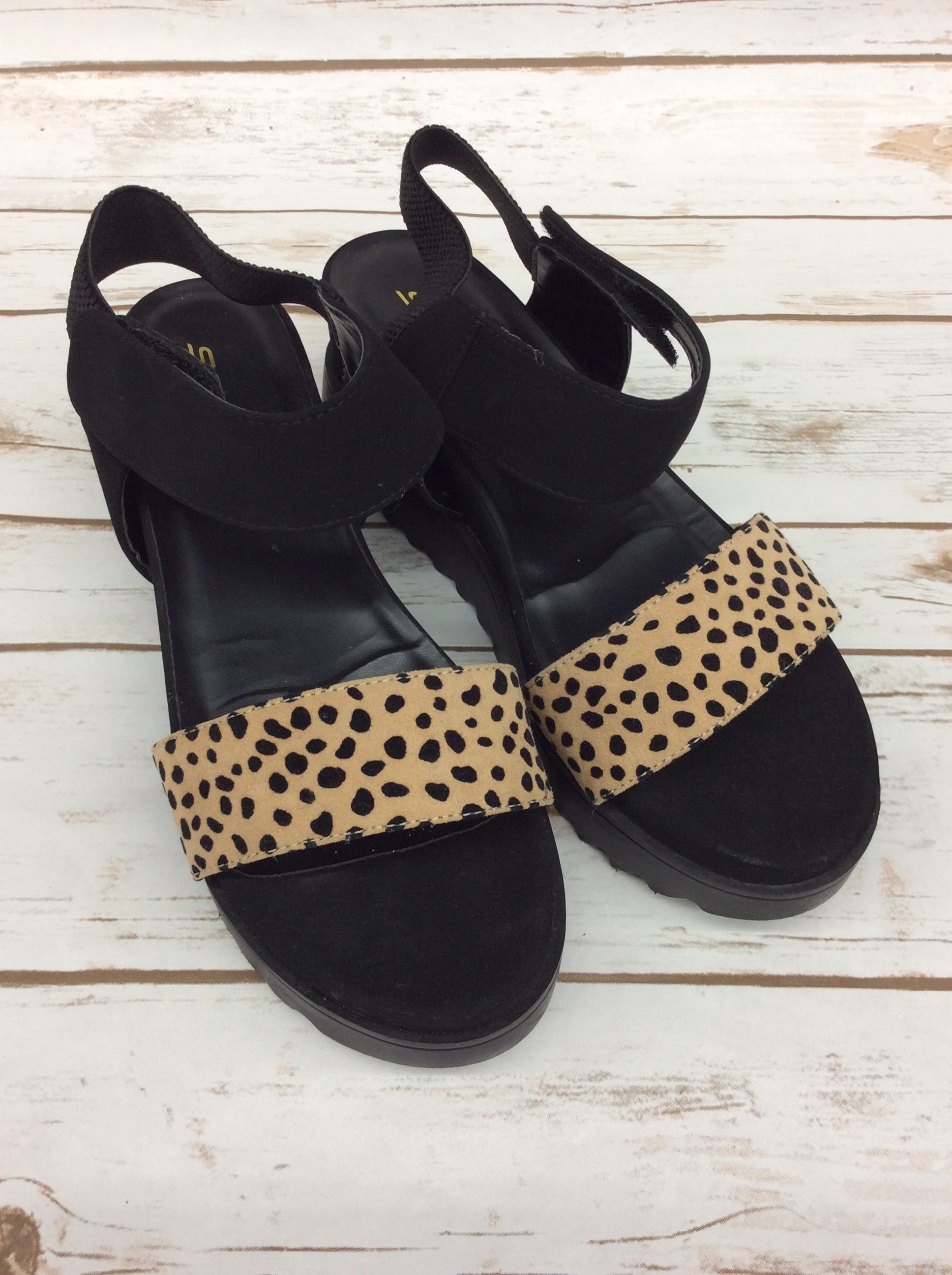 Primary Photo - BRAND: SODA <BR>STYLE: SANDALS HIGH <BR>COLOR: BLACK <BR>SIZE: 9 <BR>SKU: 220-220160-1148