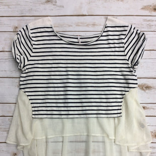 Primary Photo - BRAND: FREE PEOPLE STYLE: TOP SHORT SLEEVE COLOR: STRIPED SIZE: M SKU: 220-220138-23212