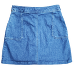 Photo #1 - BRAND: A NEW DAY <BR>STYLE: SKIRT <BR>COLOR: DENIM <BR>SIZE: 2 <BR>SKU: 220-22095-11105