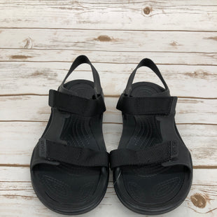Primary Photo - BRAND: CROCS STYLE: SANDALS FLAT COLOR: BLACK SIZE: 6 SKU: 220-22012-34024