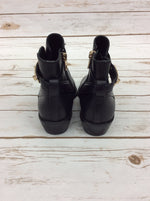 Photo #3 - BRAND: COACH <BR>STYLE: BOOTS ANKLE <BR>COLOR: BLACK <BR>SIZE: 6.5 <BR>OTHER INFO: AS IS <BR>SKU: 220-220153-4536