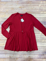 Primary Photo - BRAND: J JILL <BR>STYLE: TOP LONG SLEEVE <BR>COLOR: RED <BR>SIZE: S <BR>SKU: 220-22012-33798