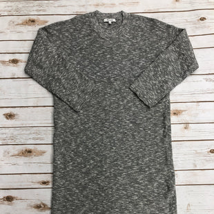 Primary Photo - BRAND: MADEWELL STYLE: DRESS SHORT LONG SLEEVE COLOR: GREY SIZE: M SKU: 220-22012-34131