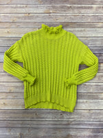 Primary Photo - BRAND: UMGEE <BR>STYLE: SWEATER LIGHTWEIGHT <BR>COLOR: YELLOW <BR>SIZE: S <BR>SKU: 220-220138-25589