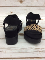 Photo #2 - BRAND: SODA <BR>STYLE: SANDALS HIGH <BR>COLOR: BLACK <BR>SIZE: 9 <BR>SKU: 220-220160-1148
