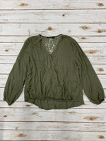 Primary Photo - BRAND: DOE & RAE <BR>STYLE: TOP LONG SLEEVE <BR>COLOR: GREEN <BR>SIZE: S <BR>SKU: 220-220120-6865