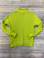 Photo #3 - BRAND: UMGEE <BR>STYLE: SWEATER LIGHTWEIGHT <BR>COLOR: YELLOW <BR>SIZE: S <BR>SKU: 220-220138-25589