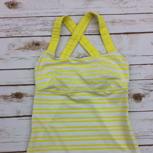 Primary Photo - BRAND: LULULEMON STYLE: ATHLETIC TANK TOP COLOR: YELLOW SIZE: S SKU: 220-22095-6940