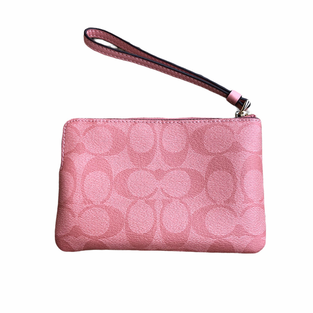 Photo #1 - BRAND: COACH <BR>STYLE: WRISTLET <BR>COLOR: PINK <BR>OTHER INFO: NEW! <BR>SKU: 220-220160-1205