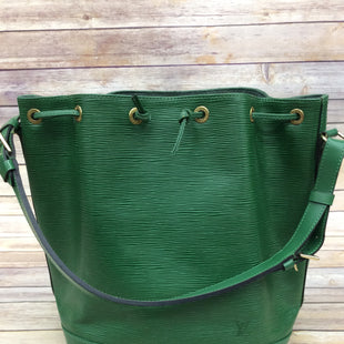 Primary Photo - BRAND: LOUIS VUITTON STYLE: HANDBAG DESIGNER COLOR: GREEN SIZE: LARGE OTHER INFO: EPI NOE  AS IS SKU: 220-220138-24983