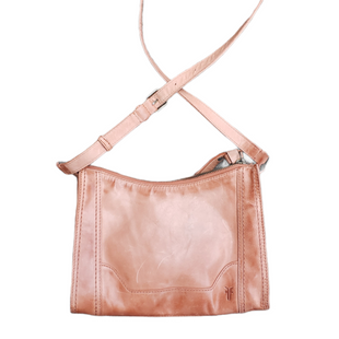 Primary Photo - BRAND: FRYE STYLE: HANDBAG DESIGNER COLOR: PEACH SIZE: MEDIUM SKU: 220-220138-27782