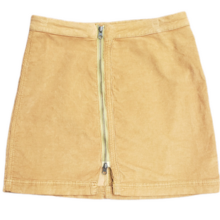 Primary Photo - BRAND: FREE PEOPLE STYLE: SKIRT COLOR: TAN SIZE: 6 SKU: 220-220138-25701MUSTARD BROWN COLOR IN PERSON(PICTURES AS ORANGE)