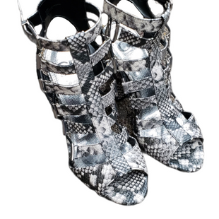 Primary Photo - BRAND: GIANNI BINI STYLE: SHOES LOW HEEL COLOR: SNAKESKIN PRINT SIZE: 8.5 SKU: 220-220128-15048