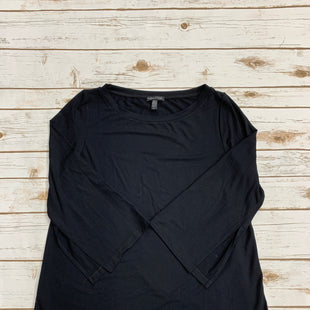 Primary Photo - BRAND: EILEEN FISHER STYLE: TOP LONG SLEEVE COLOR: BLACK SIZE: S SKU: 220-22012-34105