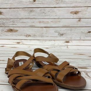Primary Photo - BRAND: STEVE MADDEN STYLE: SANDALS FLAT COLOR: TAN SIZE: 9.5 SKU: 220-220138-19809