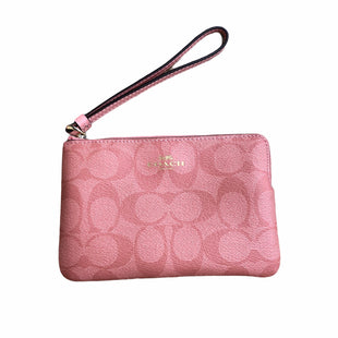 Primary Photo - BRAND: COACH STYLE: WRISTLET COLOR: PINK OTHER INFO: NEW! SKU: 220-220160-1205