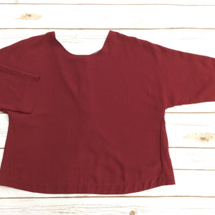 Primary Photo - BRAND:    CLOTHES MENTOR STYLE: TOP LONG SLEEVE COLOR: MAROON SIZE: S OTHER INFO: LOVE AND FRIENDS - SKU: 220-22012-34106