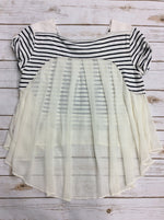Photo #1 - BRAND: FREE PEOPLE <BR>STYLE: TOP SHORT SLEEVE <BR>COLOR: STRIPED <BR>SIZE: M <BR>SKU: 220-220138-23212