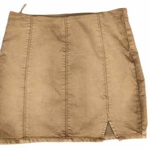 Primary Photo - BRAND: FREE PEOPLE STYLE: SKIRT COLOR: TAN SIZE: M SKU: 220-220138-26859