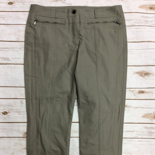 Primary Photo - BRAND: ESCADA STYLE: PANTS COLOR: OLIVE SIZE: 12 SKU: 220-22012-34121