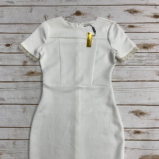 Primary Photo - BRAND: ANTHROPOLOGIE STYLE: DRESS SHORT SHORT SLEEVE COLOR: WHITE SIZE: S SKU: 220-22012-34081