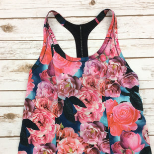 Primary Photo - BRAND: LULULEMON STYLE: ATHLETIC TANK TOP COLOR: FLORAL SIZE: 6 SKU: 220-220138-24034