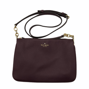 Primary Photo - BRAND: KATE SPADE STYLE: HANDBAG DESIGNER COLOR: PURPLE SIZE: SMALL SKU: 220-220138-27486