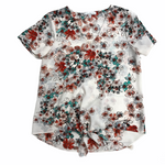 Primary Photo - BRAND:    CLOTHES MENTOR <BR>STYLE: TOP SHORT SLEEVE <BR>COLOR: FLORAL <BR>SIZE: S <BR>OTHER INFO: 14TH PLACE - <BR>SKU: 220-22012-32493