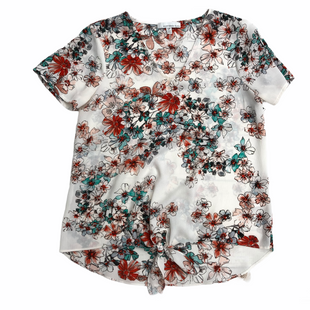 Primary Photo - BRAND:    CLOTHES MENTOR STYLE: TOP SHORT SLEEVE COLOR: FLORAL SIZE: S OTHER INFO: 14TH PLACE - SKU: 220-22012-32493