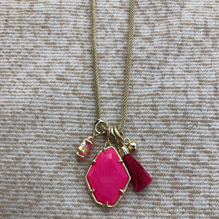 Primary Photo - BRAND: KENDRA SCOTT JEWLERY STYLE: NECKLACE COLOR: PINK SKU: 220-220138-26186