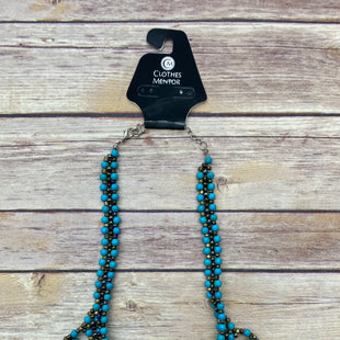 Primary Photo - BRAND:    CLOTHES MENTOR STYLE: NECKLACE COLOR: TURQUOISE SKU: 220-22090-5824