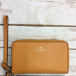 Primary Photo - BRAND: COACH STYLE: WRISTLET COLOR: YELLOW SKU: 220-22063-3757