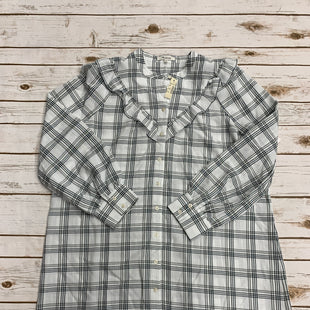 Primary Photo - BRAND: MADEWELL STYLE: DRESS SHORT LONG SLEEVE COLOR: PLAID SIZE: L SKU: 220-22012-34080