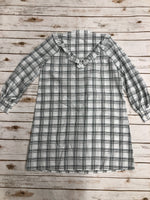 Photo #3 - BRAND: MADEWELL <BR>STYLE: DRESS SHORT LONG SLEEVE <BR>COLOR: PLAID <BR>SIZE: M <BR>SKU: 220-22012-34130