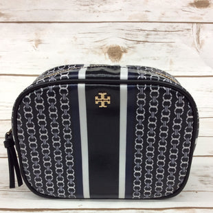 Primary Photo - BRAND: TORY BURCH STYLE: MAKEUP BAG COLOR: BLACK WHITE SKU: 220-22090-7120