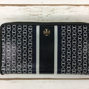 Primary Photo - BRAND: TORY BURCH STYLE: WALLET COLOR: BLACK WHITE SIZE: LARGE SKU: 220-22090-7119