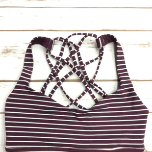 Primary Photo - BRAND: LULULEMON STYLE: ATHLETIC TANK TOP COLOR: MAROON SIZE: 4 SKU: 220-220128-14703