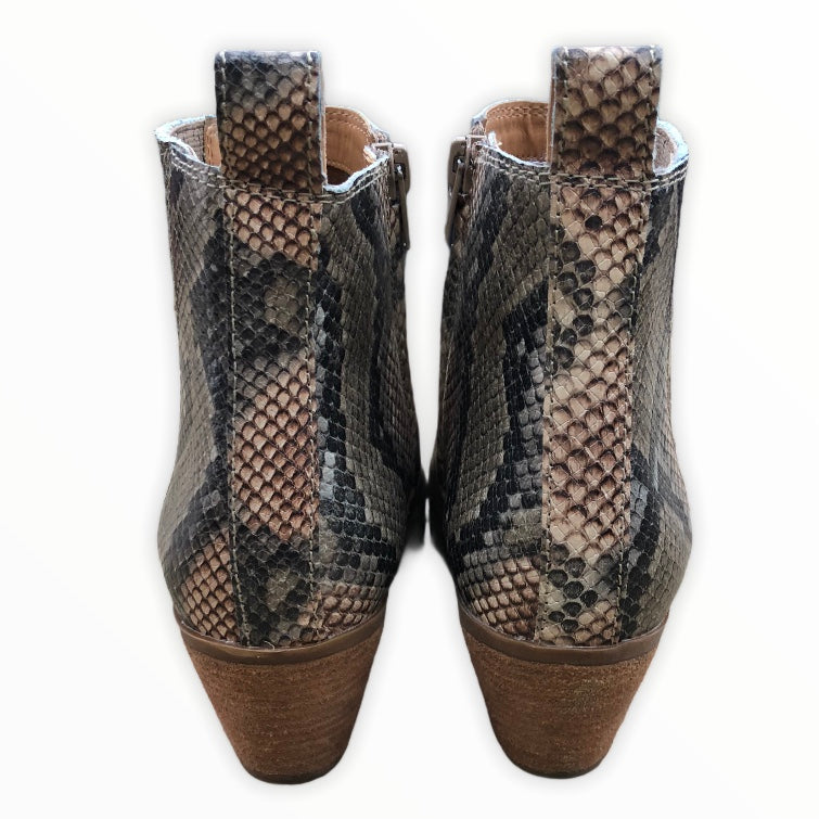 Photo #3 - BRAND: FRYE <BR>STYLE: BOOTS ANKLE <BR>COLOR: SNAKESKIN PRINT <BR>SIZE: 8 <BR>SKU: 220-220138-26776